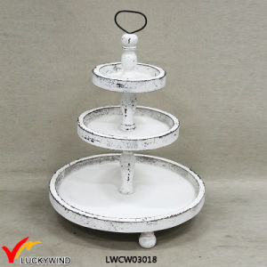 Shabby Chic Food Serving 3 Tier Plate Stand & China Shabby Chic Food Serving 3 Tier Plate Stand - China 3 Tier ...