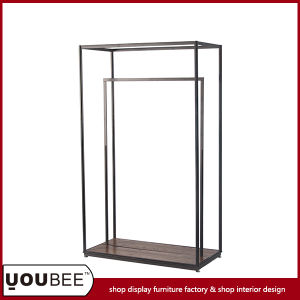 Retil Shop Metal Display Shelf/Stand/Rack for Clothes Store Interior Decoration