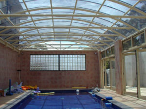 Polycarbonate Panels Swimming Pool Cover