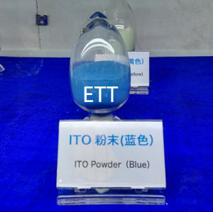 High Quality ITO (Indium Tin Oxide) Powder at Color Blue pictures & photos