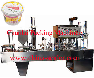Automatic Wet Wipes Bucket Filling Sealing Machine pictures & photos