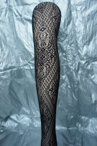 Sexy Legging Fishnet Pantyhose with Floral Pattern 1962 pictures & photos