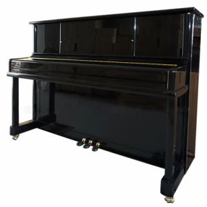 Chloris Vertical Piano, Black Polished Upright Piano