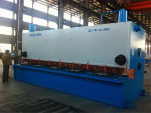 Ce Hydraulic Metal Plate Shearing Machine with Best Price (QC11k-16X6000)