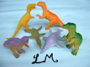 OEM Soft Fancy Dinosaur Dragon Jelly Animal Toy pictures & photos