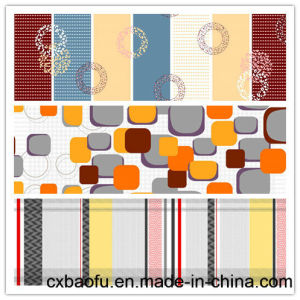 New Printed Polyester Fabric in Sofa