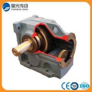 K Series Helical Bevel Transmission Gear Box pictures & photos
