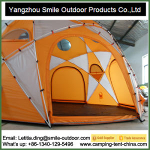 Huge 12 Persons Tr&oline C&ing Family Round Dome Tent  sc 1 st  Yangzhou Smile Outdoor Products Co. Ltd. & China Huge 12 Persons Trampoline Camping Family Round Dome Tent ...
