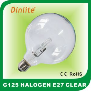 G125 globe E27 18/28/42W halogen bulb pictures & photos