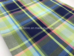 50′s Yarn Dyed Cotton Check Fabric-Lz8636 pictures & photos