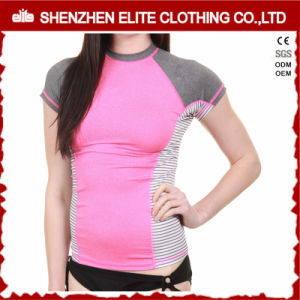Sublimation Printing Long Sleeve Rash Guard Shirt for Women (ELTRGJ-264) pictures & photos