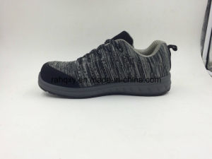 Light and Comfortable Injection Sports Safety Shoes (16063-1) pictures & photos