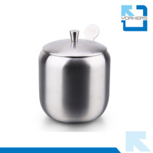 Higt Quality 304 Stainless Steel Salt Container Spice Bottle pictures & photos