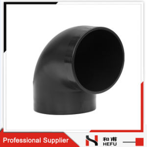 Black Plastic HDPE Material Drainage Pipe 90 Degree Elbow  sc 1 st  Ningbo HeQi Pipe Co. Ltd. & China Black Plastic HDPE Material Drainage Pipe 90 Degree Elbow ...