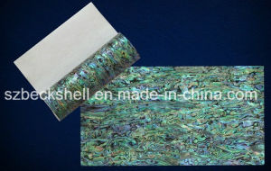 AA Grade 14*24cm Flexible Shell Sheet with Sticker for Nail Art