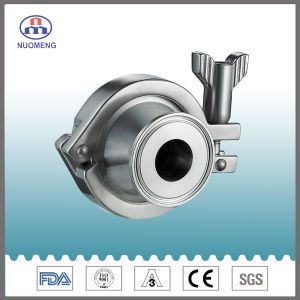 Sanitary Stainless Steel Welded Check Valve (DIN-No. RZ1101) pictures & photos