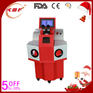 Automatic Metal Alloy Jewelry Laser Spot Welding / Welder Machine pictures & photos