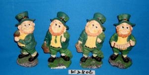 Polyresin Crafts for St. Patrick′ Day Decoration pictures & photos