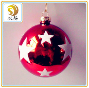 Different Color Christmas Glass Ball