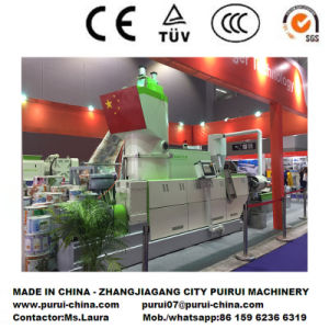 Europ Technology PE Film Waste Plastic Granulator Recycling System pictures & photos