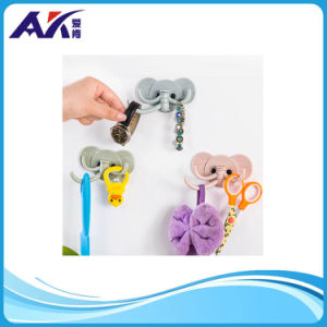 Creative Elephant Shape Plastic Adhesive Wall Hook