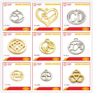Factory Price Custom Handbag Metal Logo Tag for Purse Accessories pictures & photos