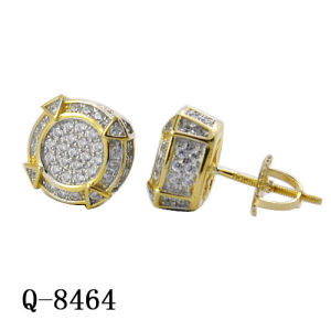 Hip Hop Jewelry Fashion Earrings Factory for Man pictures & photos