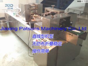 Automatic 3 Side Sealing Alcohol Wipes Packaging Machine pictures & photos