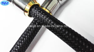 Nylon Net HDMI Cable 1.4/2.0V Lock Plug Metal pictures & photos