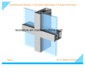 Envrimental Protection Exposed Frame Curtain Wall