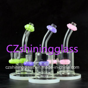 New Arrival American Colored Glass Smoking Pipes Water Pipes for Tobacco pictures & photos