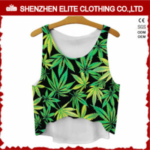 Custom Printing High Quality Fancy Singlets Women (ELTVI-37) pictures & photos