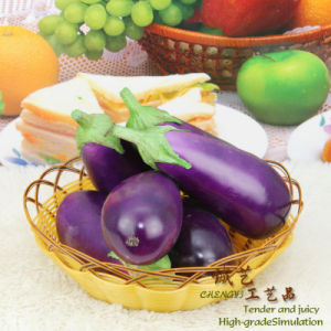 Super Lifelike Eggplant Model Artificial Fruit pictures & photos