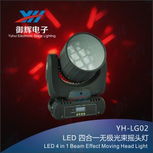 LED 12PCS 4in1 Beam Effect Moving Head Light