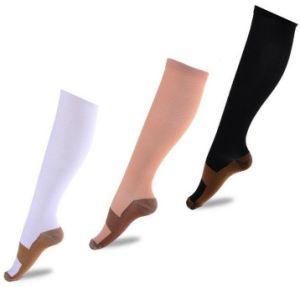 2cd619cd35cffd Unisex Anti-Fatigue Compression Socks Foot Pain Relief Soft Miracle Copper Anti  Fatigue Magic Socks