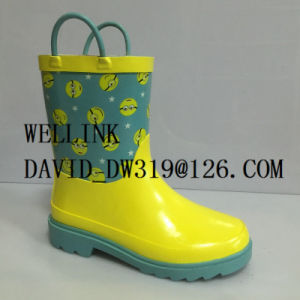 Cute Child Rubber Rainboots
