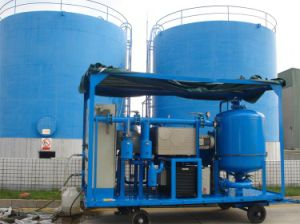 "Double-Stage Vacuum Transformer Oil Purifier Machine Equiped with ""T"" Type Evaporating Vessel"