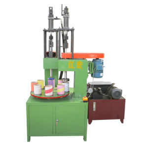 POY Paper Tube Vertical Digging Elbow Machine