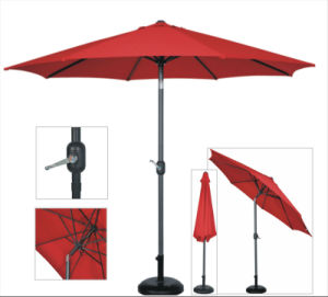 9ft Crank Open Patio Umbrella