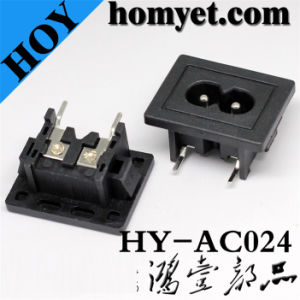 AC Power Jack with Two Pin SMD Type (AC-024)