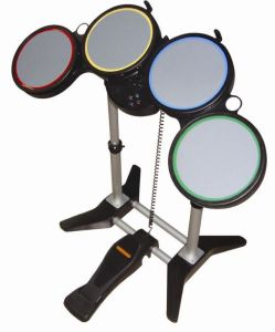 4 In 1 Wireless Drum Kit For Rockband & Hero Games