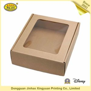 PVC Window Printable Packaging Boxes for Clothing