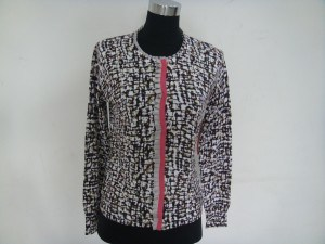 Ladies′ Knitwear With Print (HG-W3)
