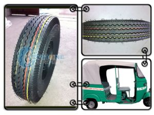 Rickshaw Tyre 4.00-8 High Duty pictures & photos