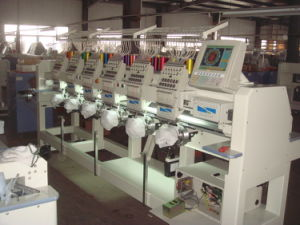 Multi Head Cylinder Type Embroidery Machine (CT SERIES)