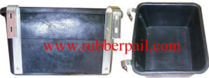 Rubber Tank, Bucket, Tank, Bucket with Metal Claw (5618)