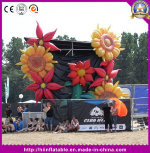 Stage/Party/Outdoor Decorative Giant Inflatable Flower Decoration