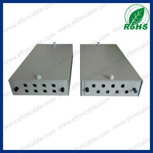 8 Port Fiber Optical Wall Mount Patch Panel pictures & photos