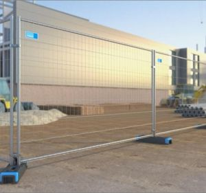 Used for Australia Canade- Galvanized Temporary Fencing
