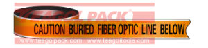 Detectable Warning Fiberoptic Line Tape pictures & photos